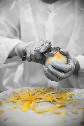 citroenen schillen