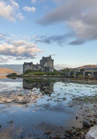 Een kasteel in Schotland