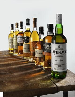 flessen whisky
