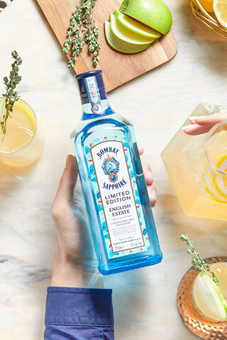 Cocktails met Bombay Sapphire English Estate