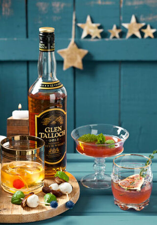 Mix& met Glen Talloch Scotch Whisky Gold
