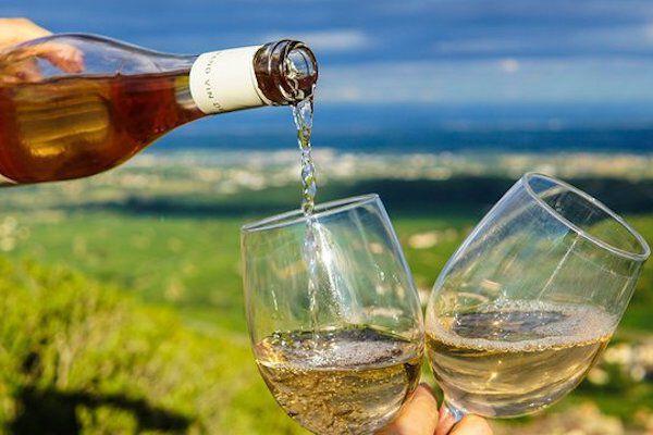 Frisse witte wijn