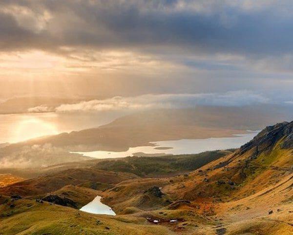 Schots berglandschap