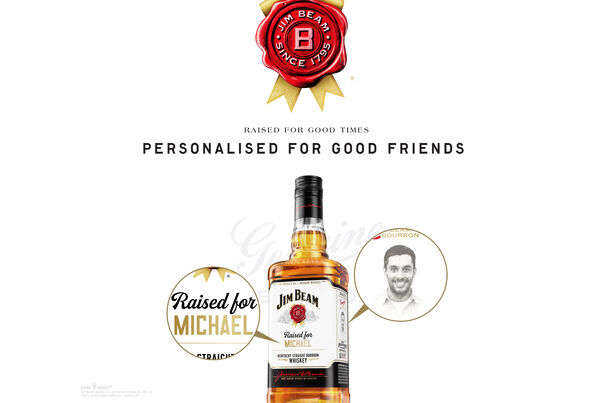 Personaliseer jouw Jim Beam