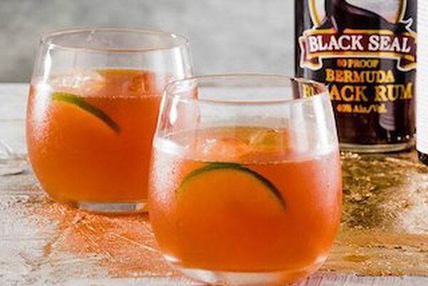 cocktail dark 'n stormy