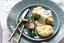 Kabeljauwfilets in dilleroom-saus met haricots verts en puree