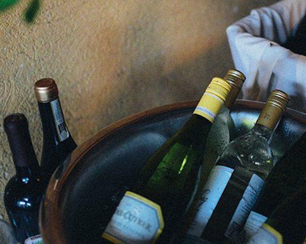 10. Fles wijn niet helemaal leeg? Vries 'm in!
