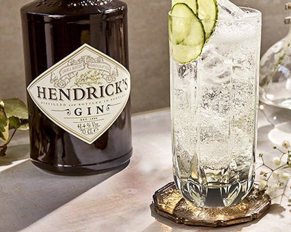 met Elderflower tonic