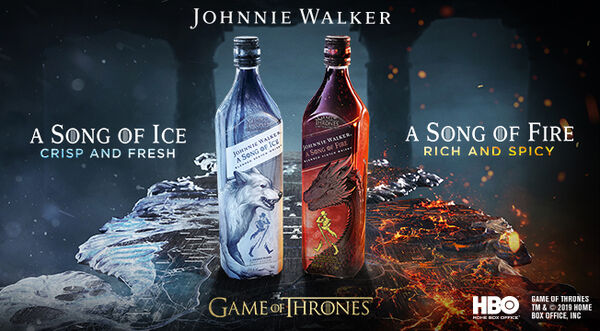 Johnnie Walker: Song of Ice en Song of Fire whisky