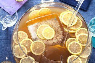 cocktails op bar met fruit