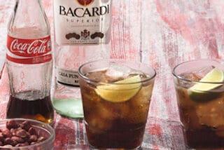 Bacardi Superior Rum & Coca-Cola