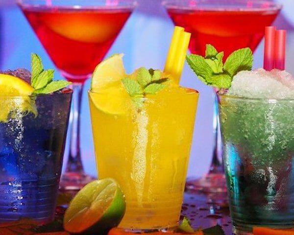 Top 5 kleurrijkste drankjes