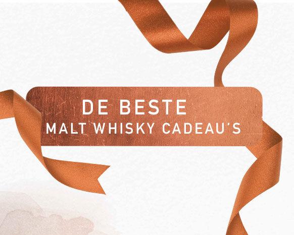 Malt whisky cadeaus