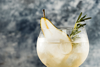Lillet Winter cocktail