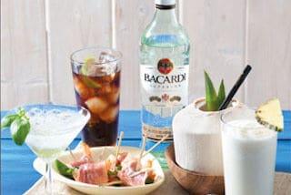 Mixen met Bacardi Superior