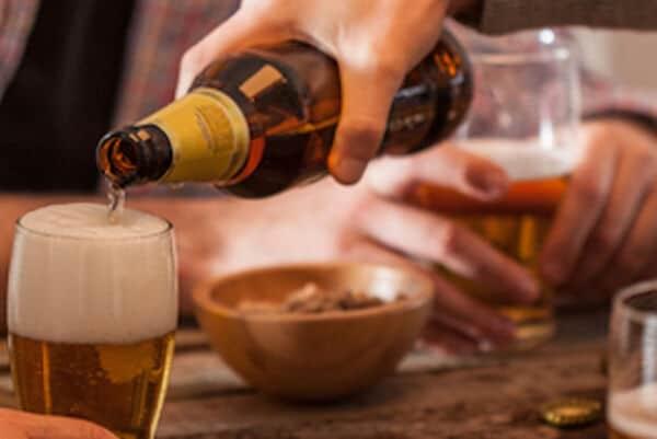 bier met eten