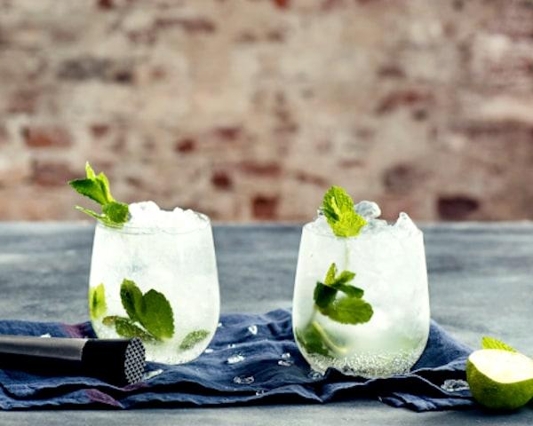 Groene cocktails