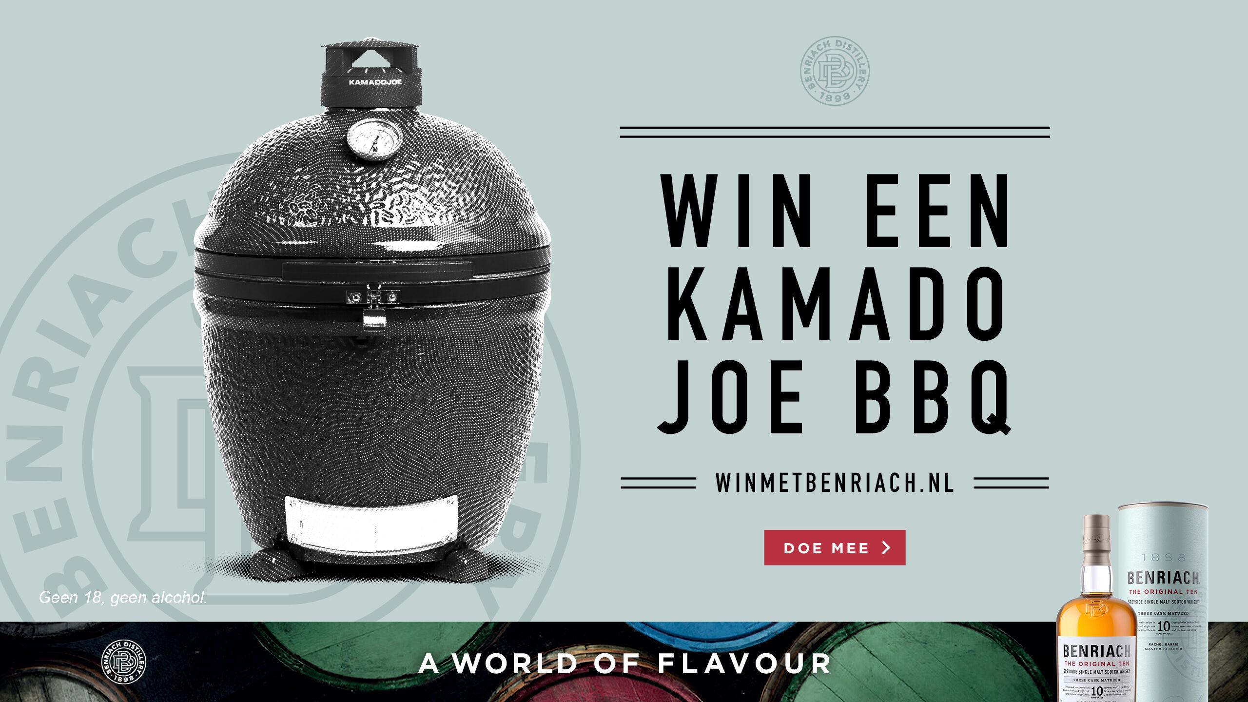 Win een Kamado Joe BBQ