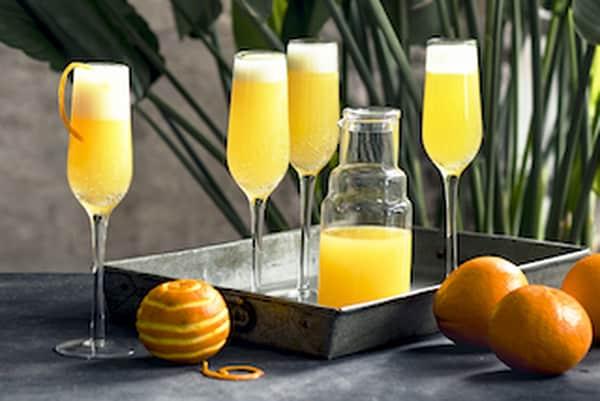 een champagne ontbijt?