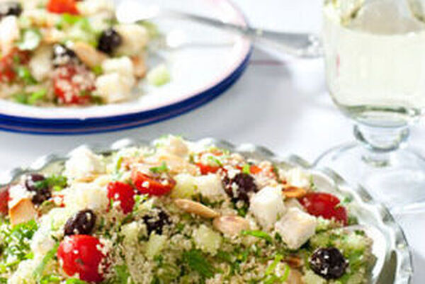 Vega: Taboulehsalade met groene kruiden