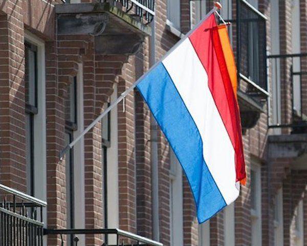 Nederlandse vlag huis
